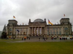 Площадь Республики перед Рейхстагом